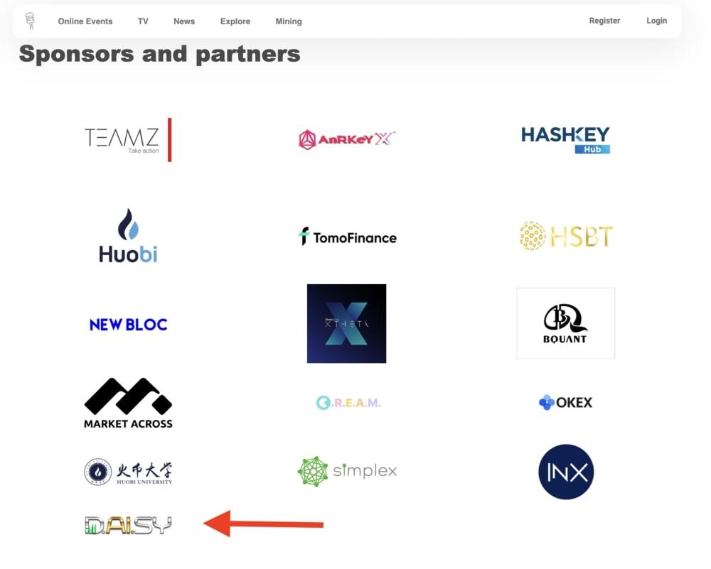 Спонсоры Crypto Asia Summit